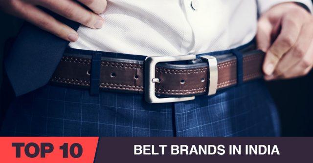Best Belt Brands in India
