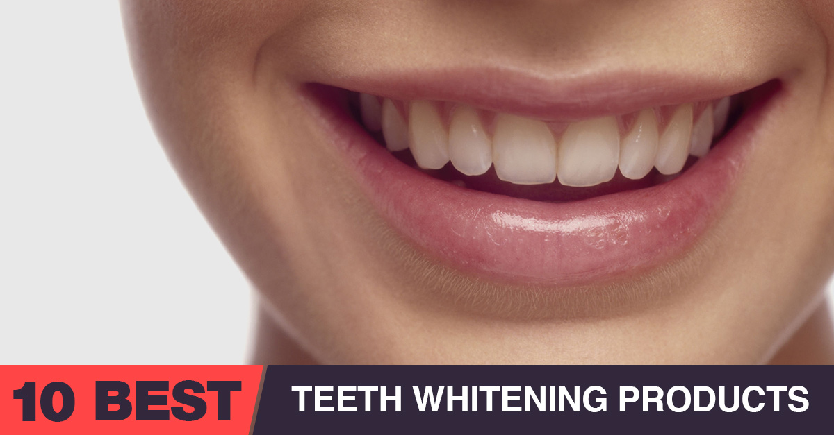 10 Best Teeth Whitening Products That Actually Work In 2020