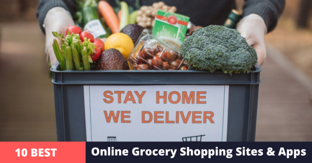 online grocery shopping