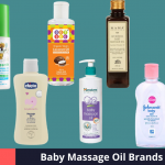 Best Baby Massage Oil Brands in India