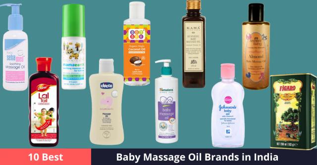 Best Baby Massage Oil Brands in India