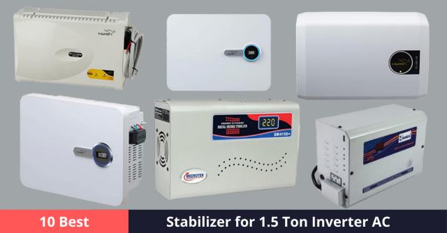 Best Stabilizer for 1.5 Ton Inverter AC
