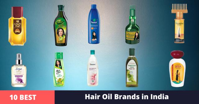 best hair oil brands in india