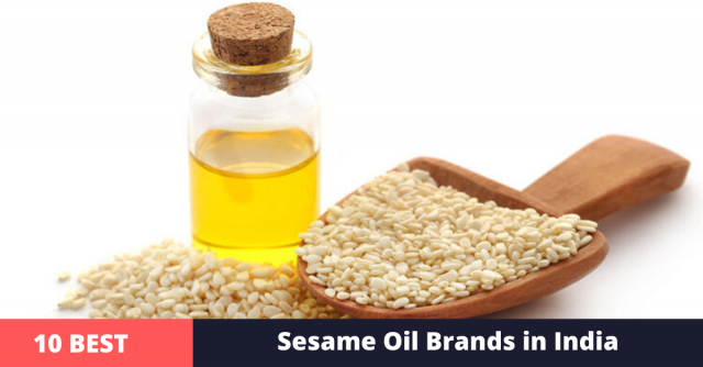 best sesame oil brands in india