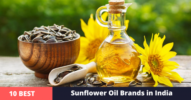 best sunflower oil brands in india