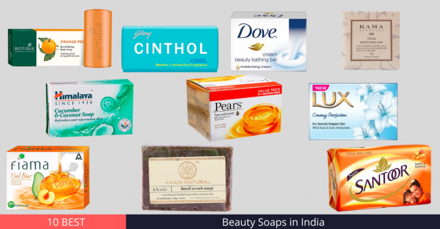 Best Beauty Soaps in India