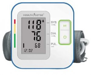 HealthSense Digital BP Monitor