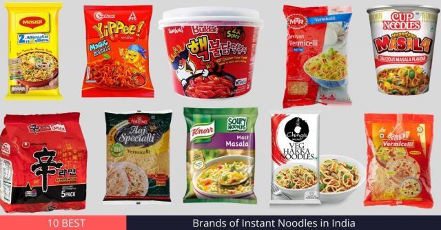 Instant Noodles in India