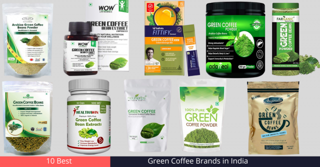 Green Coffee Brands