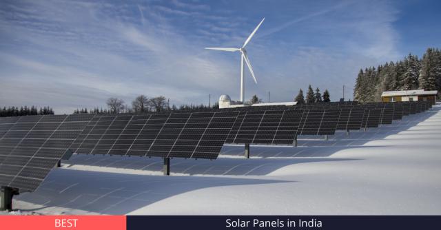 Best Solar Panels in India