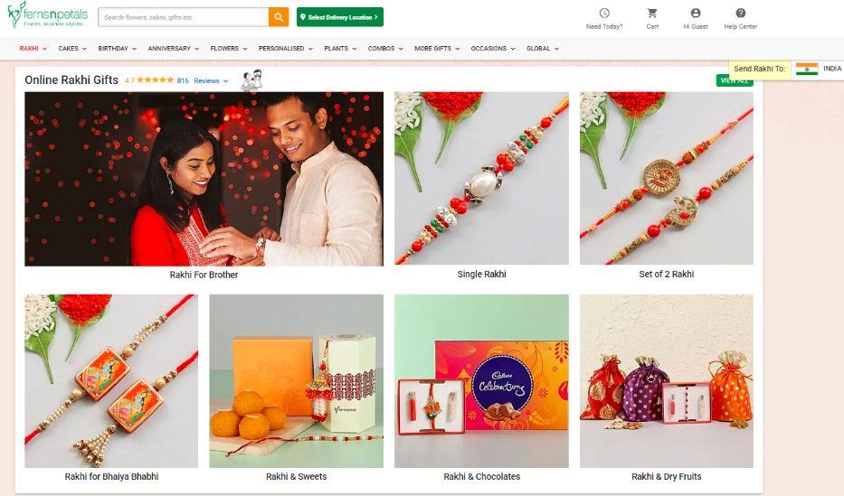 FNP Rakhi Gifts