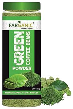 Farganic Arabica Green Coffee Beans Powder