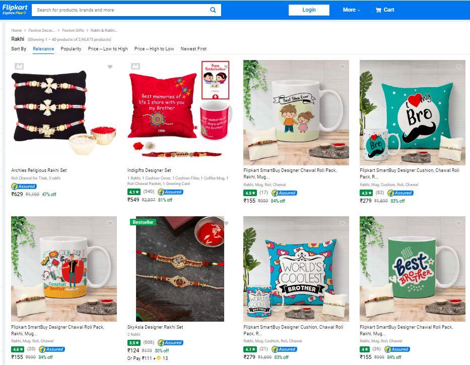Flipkart Raksha Bandhan Gifts