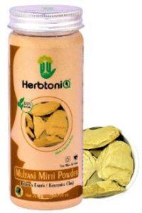 HerbtoniQ Natural Multani Mitti Powder