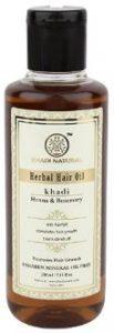 Khadi Natural Rosemary and Henna Hair Oil