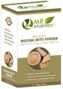MR Ayurveda Organic Multani Mitti Powder