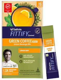 Saffola Fittify Gourmet Green Coffee