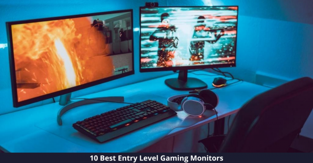 Best Entry Level Gaming Monitors