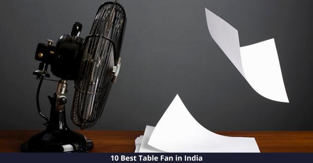 Best Table Fan