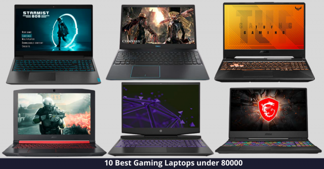 Best Gaming Laptop under 80000