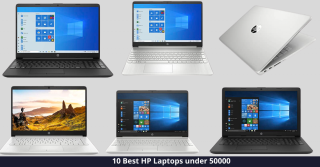 Best HP Laptop under 50000