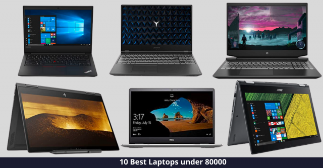 Best Laptop under 80000