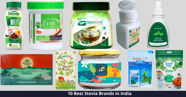 Best Stevia Brands in India