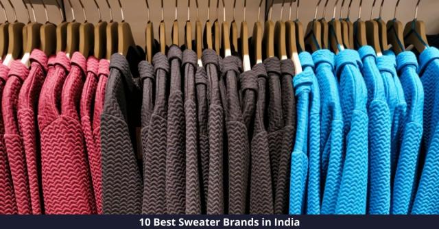 Best Sweater Brands in India