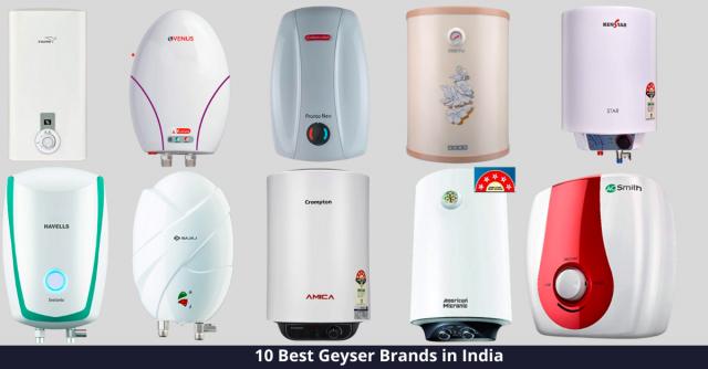 Best Geyser Brands in India
