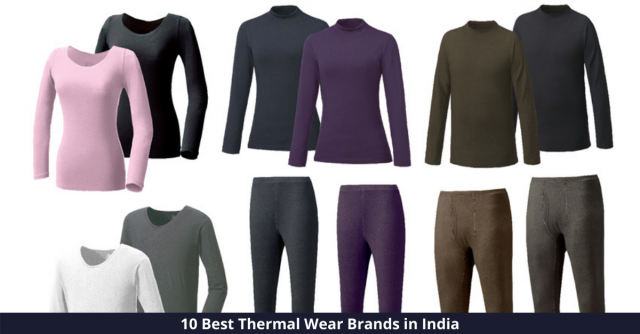 Best Thermal Wear Brands in India