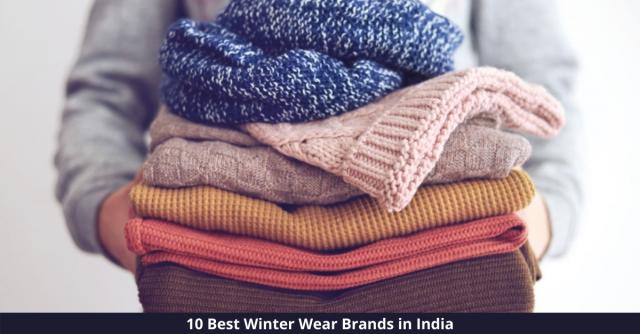 Best Winter Wear Brands in India
