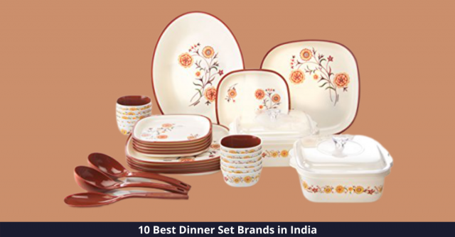 Best Dinner Set Brands in India