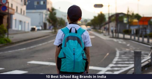 Best School Bag Brands in India