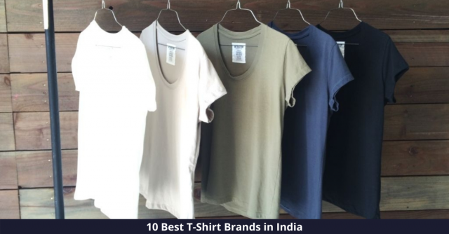 Best T Shirt Brands in India
