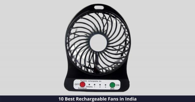 Best Rechargeable Fan