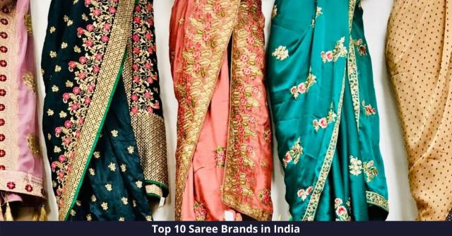 Best Saree Brands