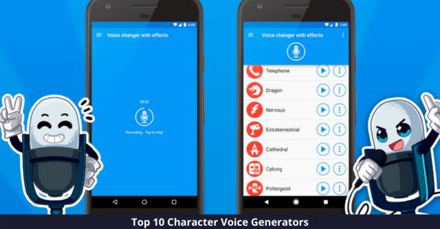 Character Voice Generators
