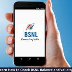 Check BSNL Balance