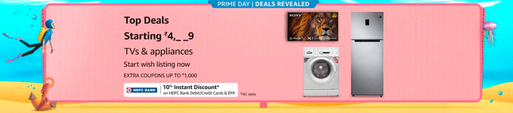 amazon prime day tv offers