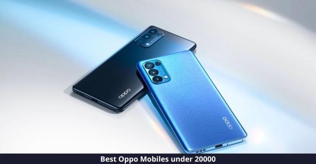 Best Oppo Mobiles under 20000