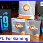 Top 10 CPU for Gaming