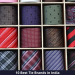 Best Tie Brands in India